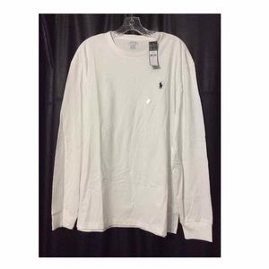 New Size Large Mens Polo Long sleeve. T Shirt